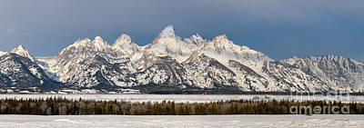 Out West Photograph - Winter's Majesty by Sandra Bronstein