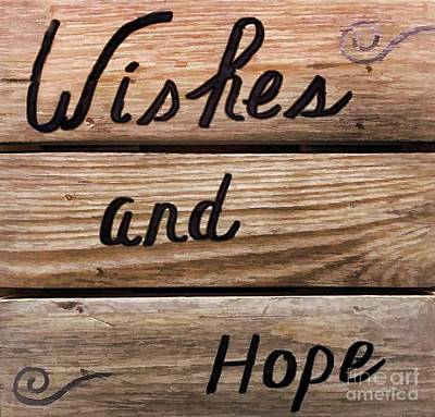 Wishes And Hope Print by Arnie Goldstein