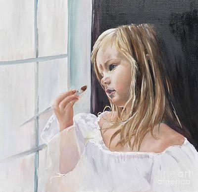 Make Believe Painting - Wishful Thinking - Cinderella - Dress Up by Jan Dappen