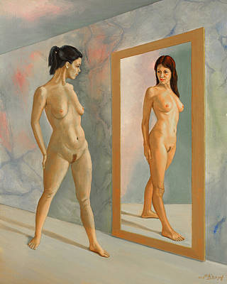 Figures Painting - Wishful Thinking by Paul Krapf