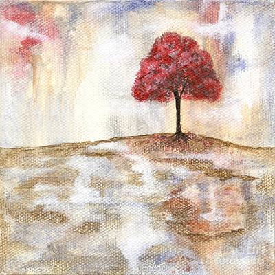 Modernart Painting - Wishing Tree by Itaya Lightbourne