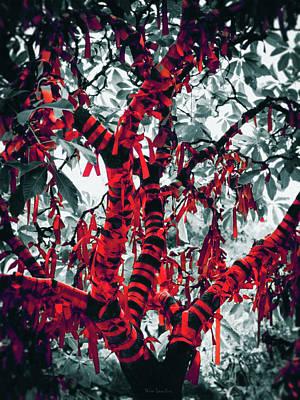 Wishing Tree Print by Wim Lanclus