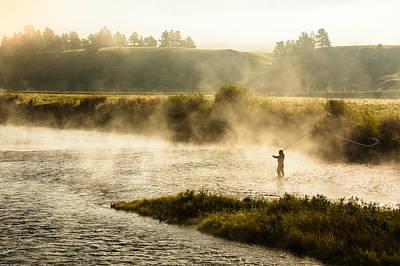 Wisps Of Fog Print by Todd Klassy