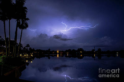 Lightning Photograph - Wispy by Quinn Sedam