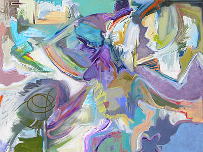 Expressionist Painting - Witch Way by Philip Rader
