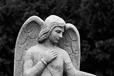 Religious Angel Art Photograph - With All My Heart by Dale Kincaid