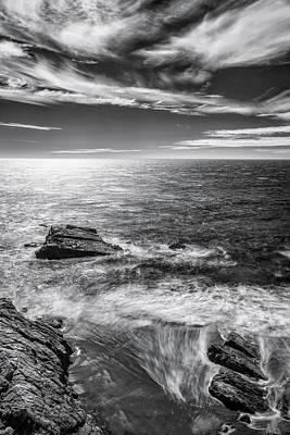 Coastline Photograph - Within by Jon Glaser