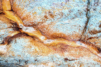 Within The Rock Itself Print by Tim Gainey