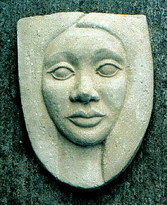 Ceramic Relief Relief - Without Veils by Madalena Lobao-Tello