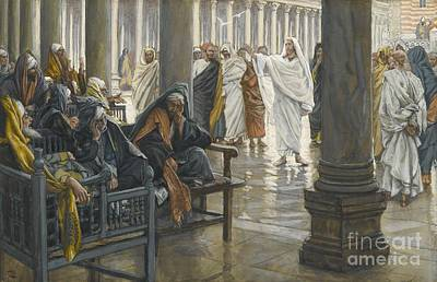 Temple Painting - Woe Unto You by Tissot