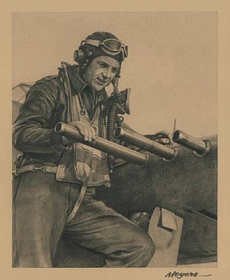 Wolfpack Leader Original by Wade Meyers