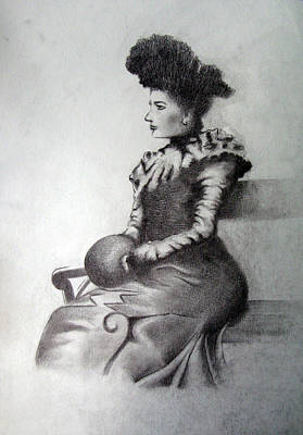 Woman Print by Alexander Chachanidze