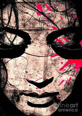 Stress Digital Art - Woman by Ramneek Narang