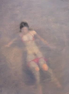 Women Are Like Water Print by Weiyu Xia