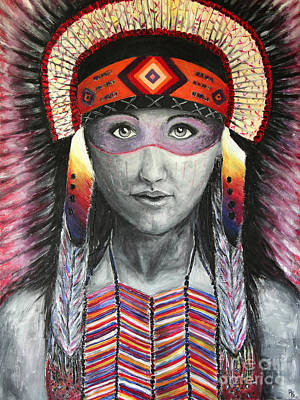 Painting - Women From The Tribe by Home Art