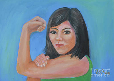 Women On The Rise 2 Print by To-Tam Gerwe