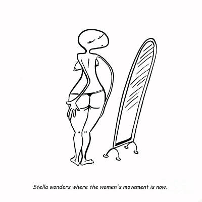 Women's Movement Print by Leanne Wilkes