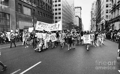Anti-war Photograph - Womens Rights, 1970 by Granger