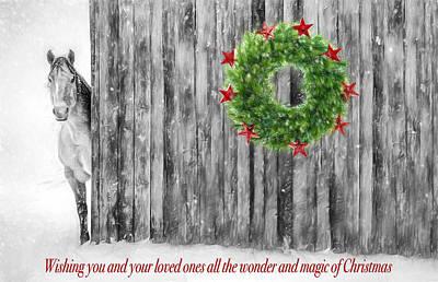 Dilapidated Digital Art - Wonder And Magic Of Christmas by Shara Lee