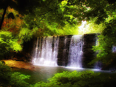 Photograph - Wondrous Waterfall by Bill Cannon