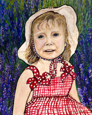 Garden Scene Mixed Media - Won't You Be My Valentine? by Kimberlee Baxter
