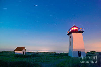 Wood End Lighthouse Provincetown Cape Cod Print by Matt Suess