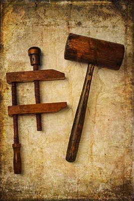 Wood Tools Print by Garry Gay