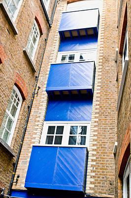 Ledge Photograph - Wooden Balconies by Tom Gowanlock