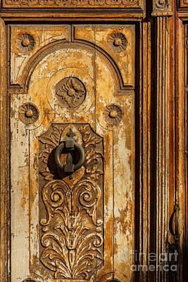 Old Door Photograph - Wooden Door by Lutz Baar