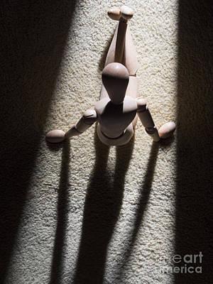 Auvergne Photograph - Wooden Figurine by Bernard Jaubert