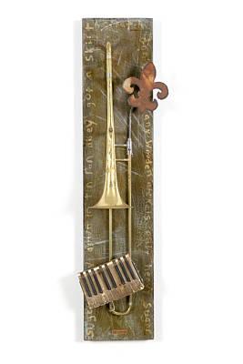 Art Sculpture - Wooden Nickels by Benjamin Bullins