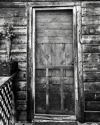 Screen Doors Photograph - Woodland Door by Lori Morrow