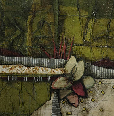 Brick Mixed Media - Woods Medicine  by Laura Lein-Svencner