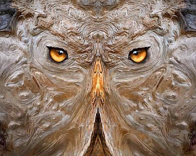 Wood Digital Art - Woody 78a by Rick Mosher