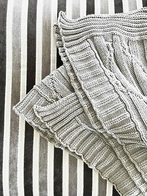 Baby Wool Photograph - Wool Throw by Tom Gowanlock