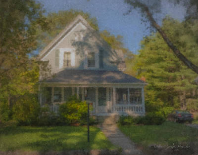 Mcentee Painting - Wooster Family Home by Bill McEntee