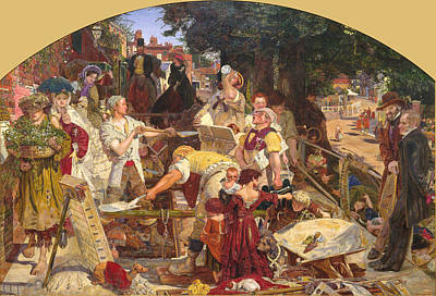Ford Madox Brown Painting - Work by Ford Madox Brown