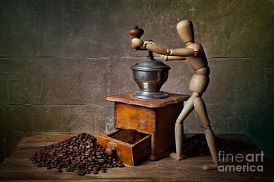 Old Grinders Photograph - Working The Mill by Nailia Schwarz