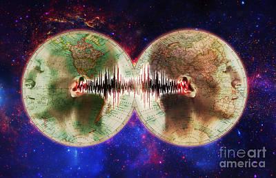 Disclosure Photograph - World Communications by George Mattei