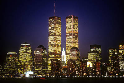 World Trade Center Print by Gerard Fritz