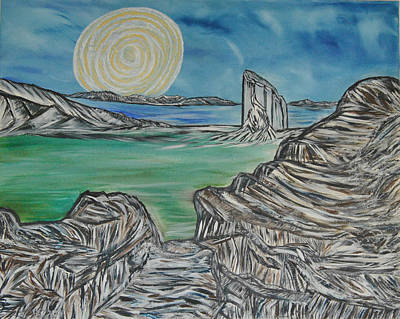 Painting - Worlds Away by Suzanne Surber