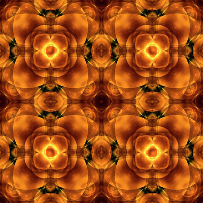 Earth Digital Art - Worlds Collide 8 by Mike McGlothlen