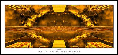 Famous Buildings Photograph - Worlds End Poster Print by Az Jackson