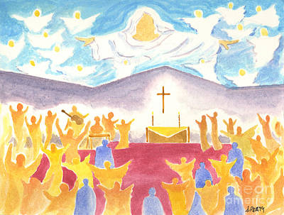 Worship God In Spirit And Truth Original by Audrey Peaty