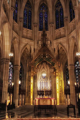 St. Patricks Cathedral Photograph - Worship by Jessica Jenney