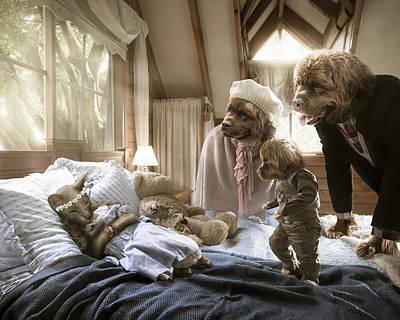 Goldilocks Digital Art - Worst Nightmare by Karen Alsop