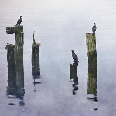 Jordan Painting - Worth The Wait - Wildlife Art by Jordan Blackstone