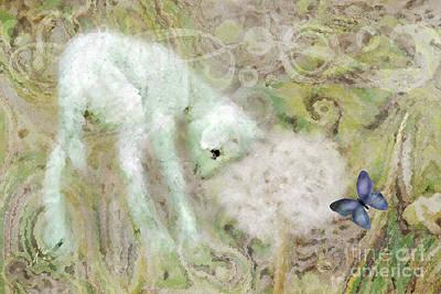Dandelion Digital Art - Worthy Is The Lamb by Anita Faye