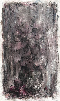 Wounded Rose Print by Rachel Christine Nowicki