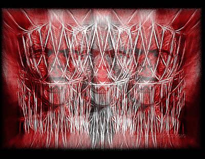 Anger Digital Art - Wrath Threefold by Mimulux patricia no